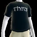 Thief - Cyan Logo T-Shirt