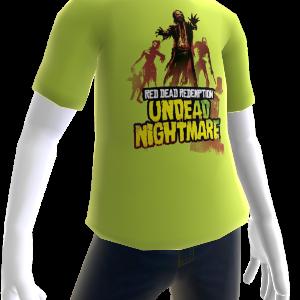 Camiseta de cuadrilla zombi