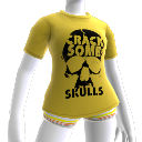 "T-shirt ""Crack Some Skulls"""