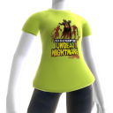 T-Shirt Mortos-vivos ajudantes do Xerife