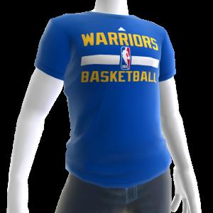 Warriors On-Court Tee
