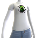"Minecraft Camiseta ""Creeper dentro"""