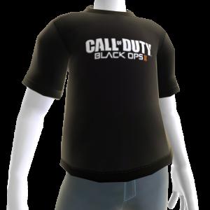 COD: Black Ops II Logo Shirt Black