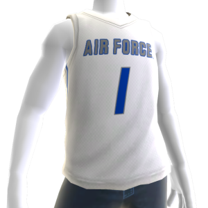 Air Force Basketball Home Jersey