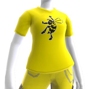 T-shirt jaune NinjaBee