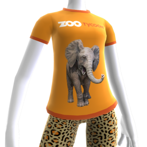 Zoo Tycoon Elephant T-shirt