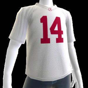 Alabama White Football Jersey