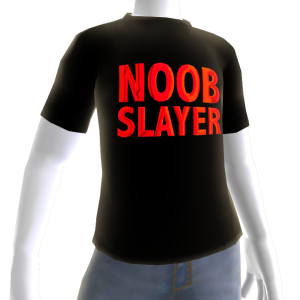 Epic Red Noob Slayer Black
