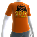 2017 Year of Gaming Orange Tee