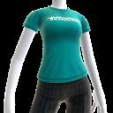 Camiseta con logotipo de Tediore