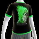 Green Fire Skull 3 Green Trim