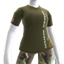 Camiseta de Modern Warfare 2 con logotipo vertical
