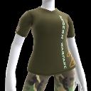 Camiseta de Modern Warfare 2 con logotipo vertical
