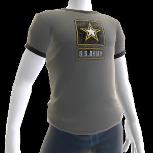 Army Tee - Gray