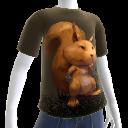 Camiseta de ardilla