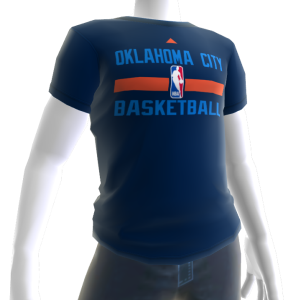 Thunder On-Court Tee