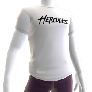 Hercules Tee - White