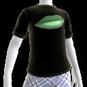 T-shirt bouche