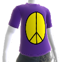 Van Driessen Peace Sign Shirt