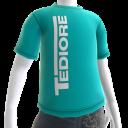 Tričko s logem Tediore