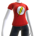 Camiseta con El Logotipo de The Flash