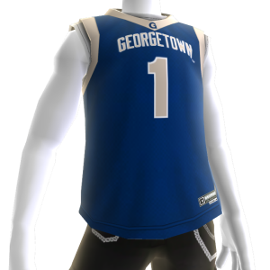 Georgetown Basketball Jersey