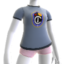 Camiseta con logo del Instituto Carrington