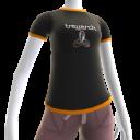 T-Shirt com Logótipo Treyarch