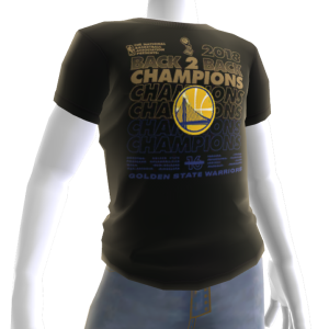 2018 Warriors Champions Tee