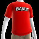 T-Shirt mit Bandit-Logo