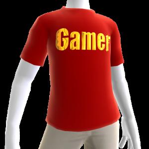 Red Gamer Gold SS Shirt