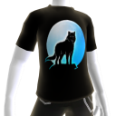 Blue Wolf Howl Tee 2