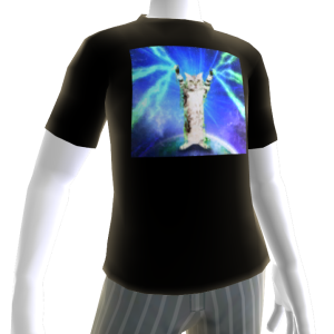 Laser Cat Avatar Shirt 3