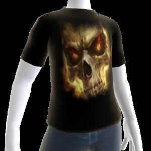 Epic Horror Skull 17 T-Shirt