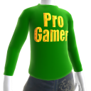 Green Gold Pro Gamer LS Shirt