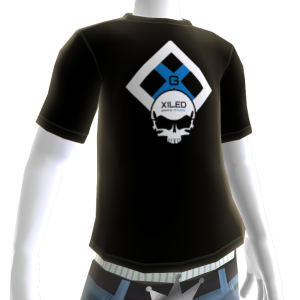 Black and Blue XGN Tee