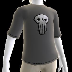 Warlords Grey  Skull Tee
