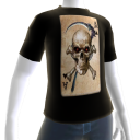 Epic Horror Skull 8 T-Shirt