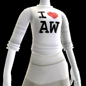 "T-Shirt ""I love Alan Wake"""