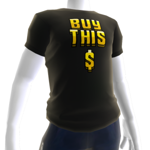 Buy This Tee - Gold