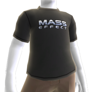 T-shirt com logótipo Mass Effect
