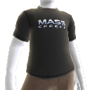 T-shirt com logótipo Mass Effect