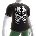Double Skull Logo Tee