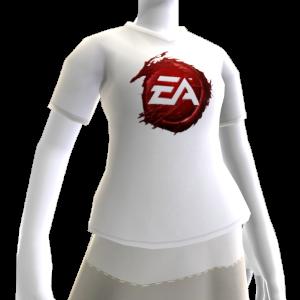 T-shirt con logo EA insanguinato