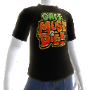 Camiseta com logo do OMD