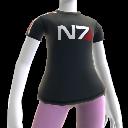 Camiseta de la N7