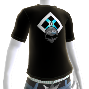 Black and Turquoise XGN Tee