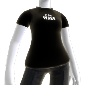 T-shirt logo Alan Wake