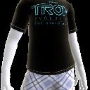 T-shirt com logótipo TRON