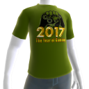 2017 Year of Gaming Green Tee